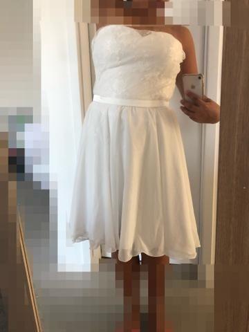 Vestido de noiva p/ festa