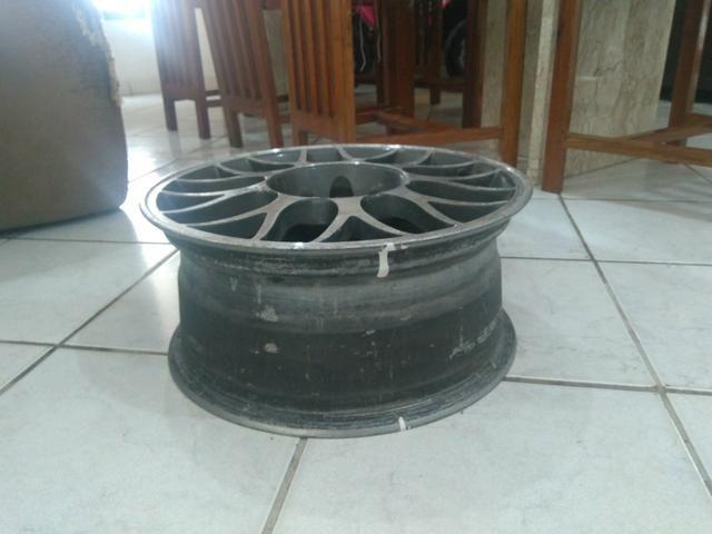 Jogo de rodas alumínio aro 15 - Foto 3