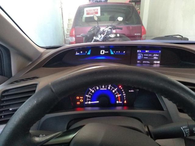 Honda Civic 13/14 lxs aut - Foto 3
