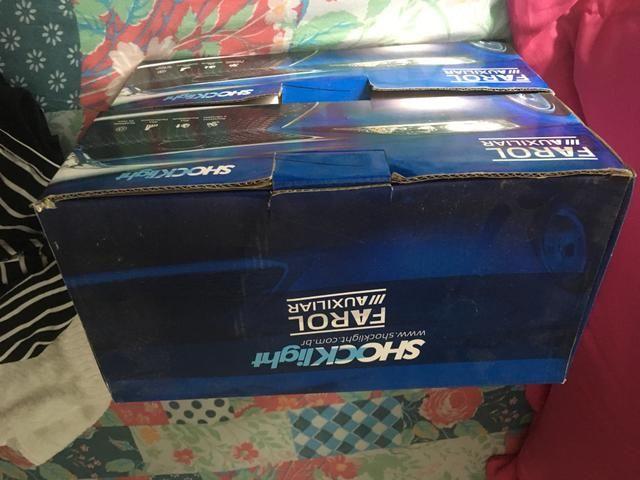 Xênon modelo h1 novo + farol neblina corsa 2001 novo na caixa