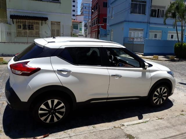 Nissan Kicks 1.6 sl cvt Flex com Pack Tech, Branco Perolado, Ano/Modelo 2018/2018 - Foto 3