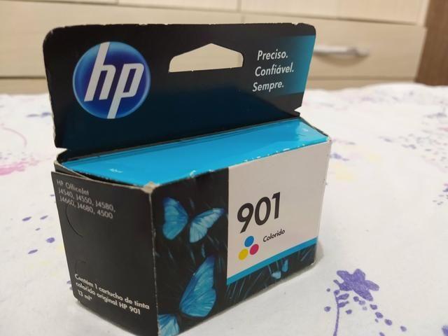 Cartucho impressora HP, modelo 901