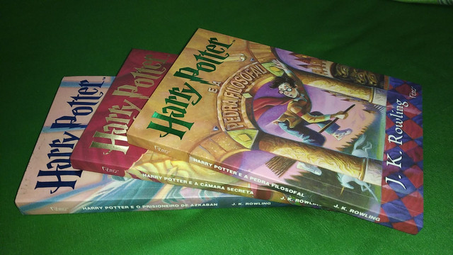 Livros Harry Potter do 1 ao 3 - Novo - Foto 2