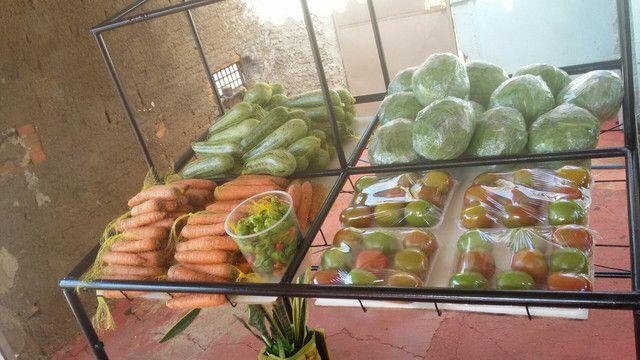 Alfaces e verduras a 1,50$