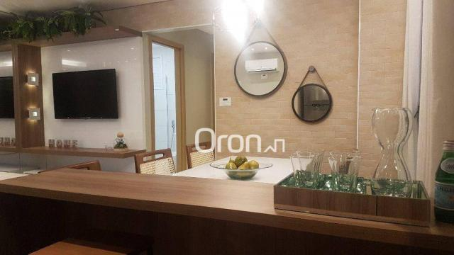 Apartamento com 2 dormitórios à venda, 62 m² por R$ 278.000,00 - Aeroviário - Goiânia/GO - Foto 3