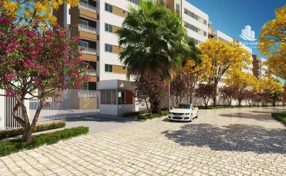 Parque das Flores - Apartamento com 2 dormitórios à venda, 50 m² por R$ 180.000