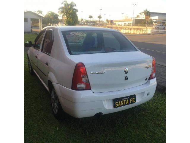 Renault Logan EXP 1.6 COMPLETO COM GNV LEGALIZADO É MUITO ECONOMICO - Foto 5