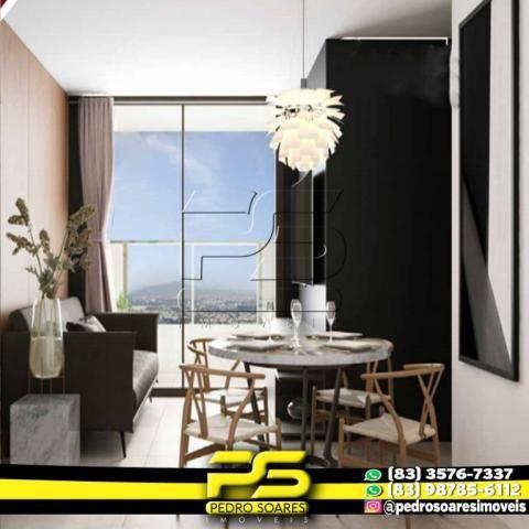 Apartamento com 2 dormitórios à venda, 60 m² por R$ 216.900,00 - Altiplano Cabo Branco - J - Foto 2