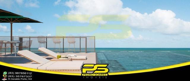 Oportunidade, apartamento, 02 suítes, piscina, 53,77m², por apenas R$ 389.563,65, em Bessa - Foto 4