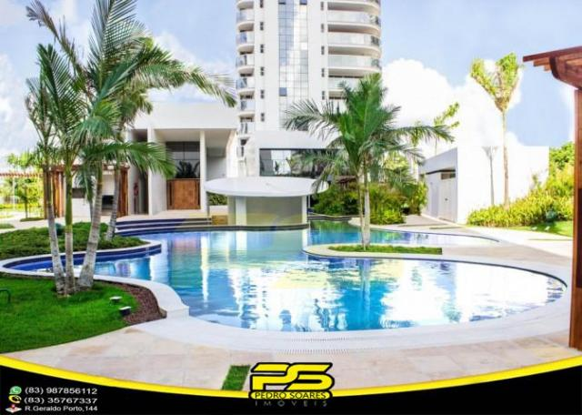 Oportunidade, apartamento p/alugar, 04 suítes, piscina, 05 vagas, 332,75m², por apenas R$  - Foto 4