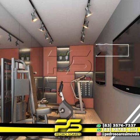 Apartamento com 2 dormitórios à venda, 60 m² por R$ 216.900,00 - Altiplano Cabo Branco - J - Foto 6