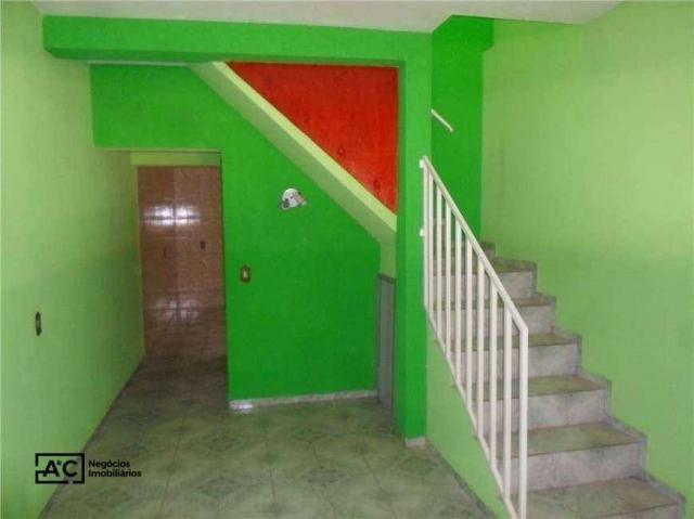 Sobrado com 2 dormitórios para alugar, 80 m² por R$ 1.100,00/mês - Jardim Adelaide - Horto - Foto 3