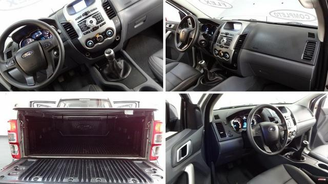 Ford Ranger Cab Dupla 2.5 XLT Flex - Foto 12
