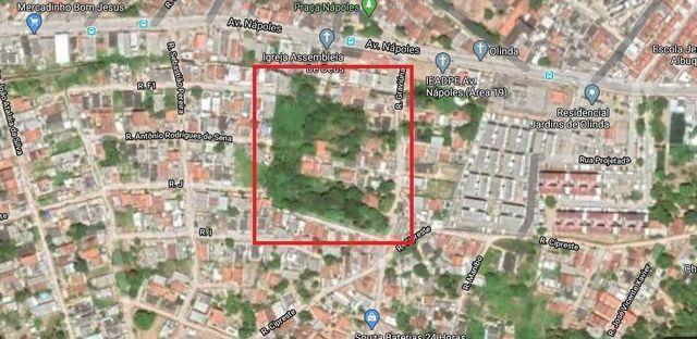 Terreno em Olinda com 5.300 m2 somente a vista - Foto 3
