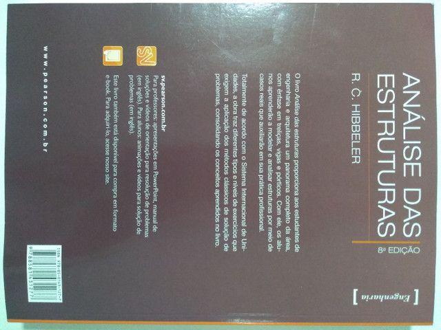 Análise das Estruturas - R.C. Hibbeler - Livro Novo - Foto 3
