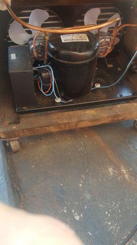 Máquina de sorvete americano com motor selado de 1 hp novinho - Foto 3
