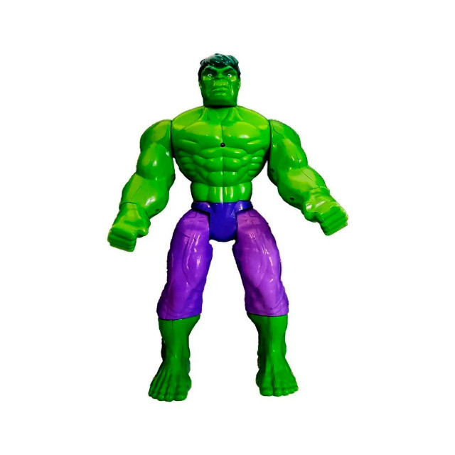 Hulk Brinquedo Boneco de 40cm c/ Luz - Foto 2