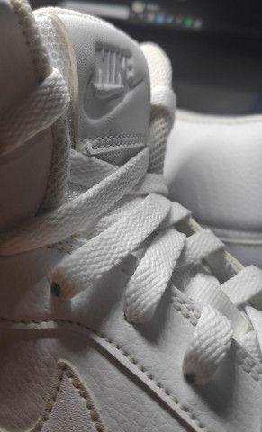 Tênis Nike Ebernon Mid Branco  - Foto 5