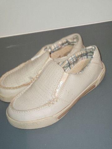 Sapato menino Bibi tam 27 - Foto 3