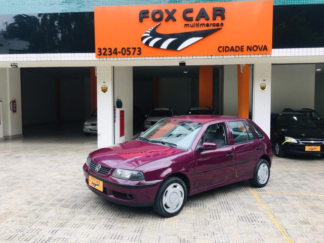 (0828) Gol 1.6 1999/00 Manual Gasolina