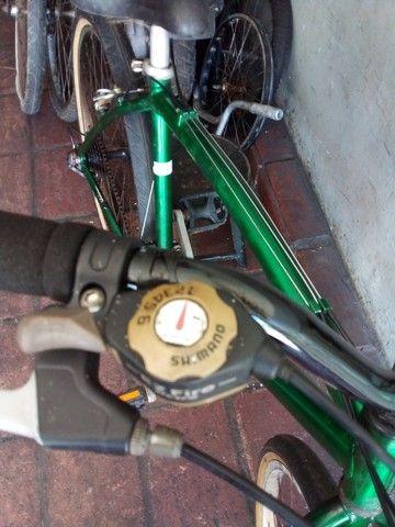 Bicicleta aro 26 18 marchas de alumínio  - Foto 5