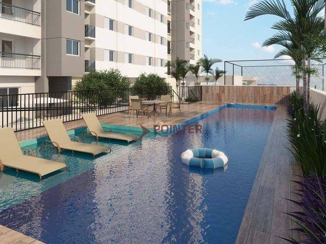 Apartamento com 2 dormitórios à venda, 61 m² por R$ 291.701,76 - Aeroviário - Goiânia/GO - Foto 7