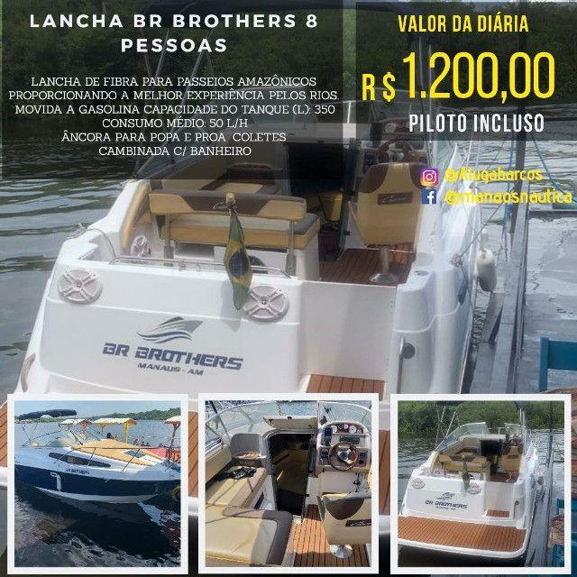 _ Alugo Lancha em Manaus, Traga sua Família - Foto 4