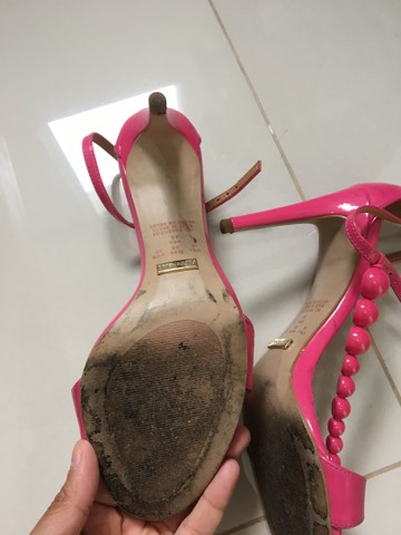 Sandália rosa marca ceccollo - Foto 2