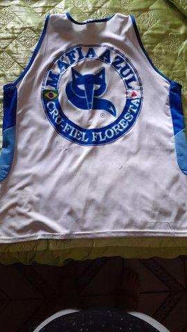 3 (três) camisas de torcida da Máfia Azul, tamanho GG - Foto 6