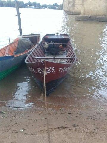Barco de ferro motor a diesel  - Foto 3