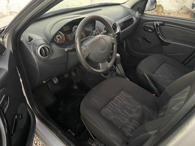 Renault - Sandero 2012 1.0 completo de tudo - V.E + brinde, SOM COM BLUETOOTH  - Foto 5