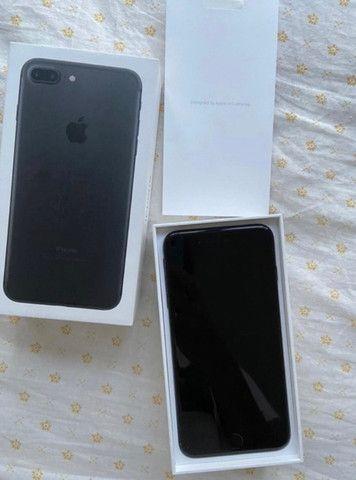 iPhone 7 Plus preto fosco raro