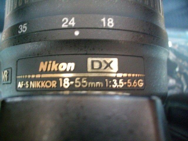 Câmera  Nikon D90 c/ obj Nikon 18-55mm