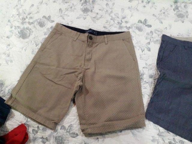 Camisas, calças e bermudas masculinas de marca originais  - Foto 5
