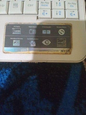 Netbook Samsung n130 retirada de peças - Foto 4