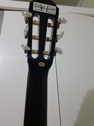 Violão Memphis novo + capa - Foto 6
