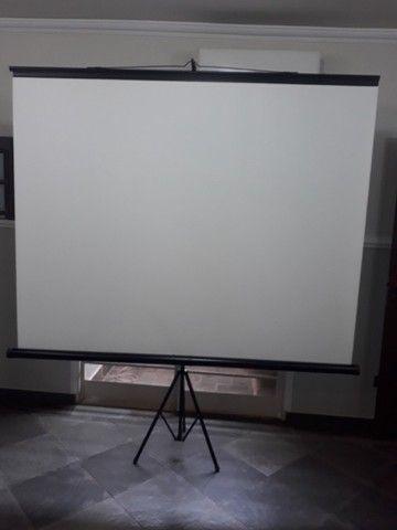 Telão de projeção de imagem 110pol