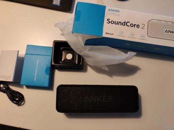 Caixa de som Bluetooth Anker SoundCore (LACRADO) - Foto 3