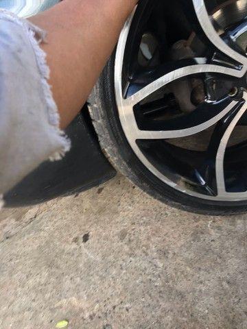 Vendo roda 18 com pneus novos 215/35/18 - Foto 2