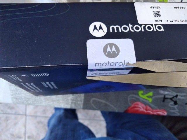 Troco Motorola G9 play 64 gb, azul safira - Foto 2