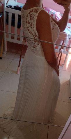 Vestido para pré wedding/casamento - Foto 3