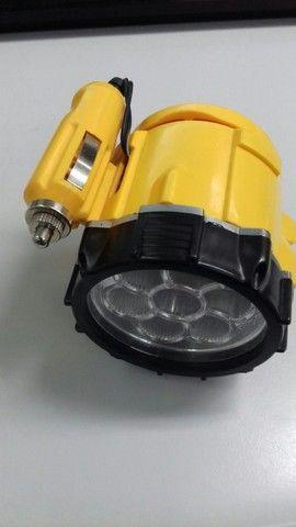 Lanterna Para Veículos Com Base Magnética Com 7 Leds - Foto 6