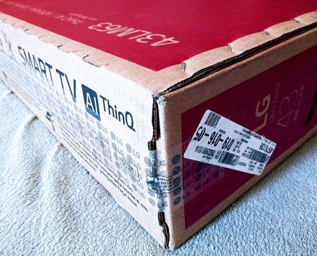 """Smart TV LG 43"""" Lacrada com Nota *leia o anuncio* - Foto 2"""