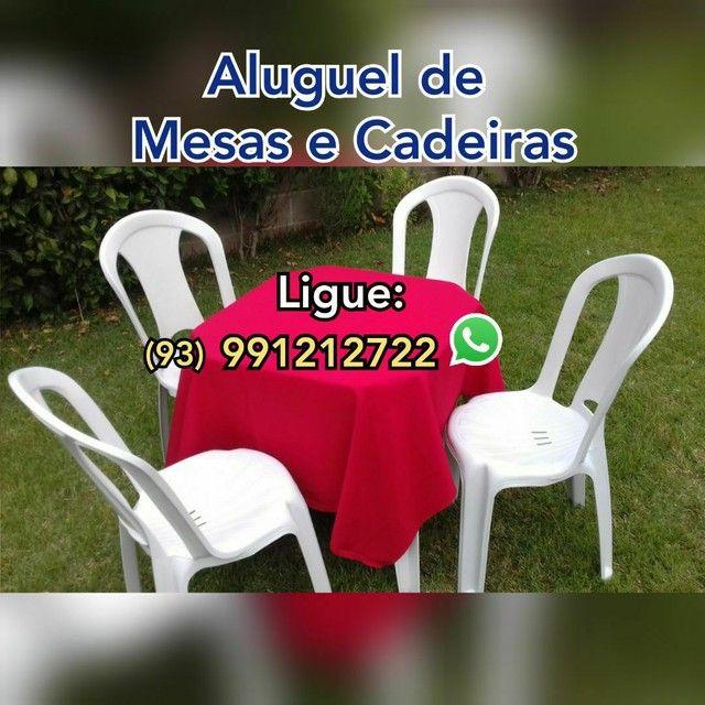 MESAS E CADEIRAS, TOALHAS, PULA PULA, GELEIRAS, CASA DE BOLINHAS...