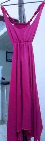 Vendo esse lindo vestido rosa