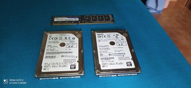 2 HD'S DE 500GB (CADA) 1 PENTE DE 4GB DDR3 1600MHZ (PC)
