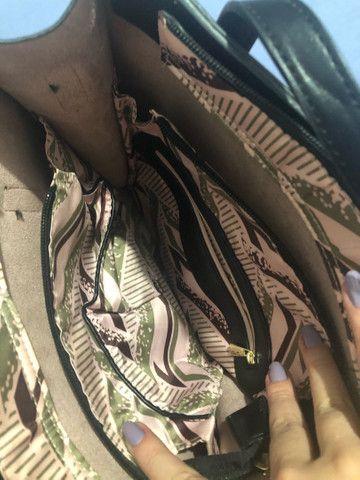 Bolsa rosa e preta chicafiore  - Foto 5