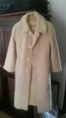 casaco sobretudo la de mohair