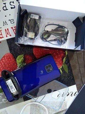 Troco Motorola G9 play 64 gb, azul safira - Foto 6