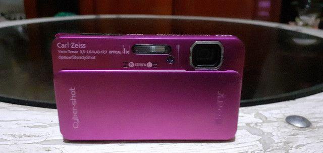 Sony Carl Zeiss Cybershot Rosa Pink 16.2 Megapixels - Foto 3
